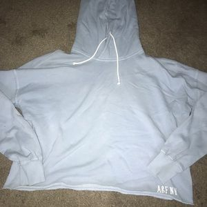 Abercrombie and Fitch Blue hoodie